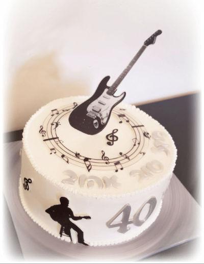 עוגת יום הולדת מבוגרים 40