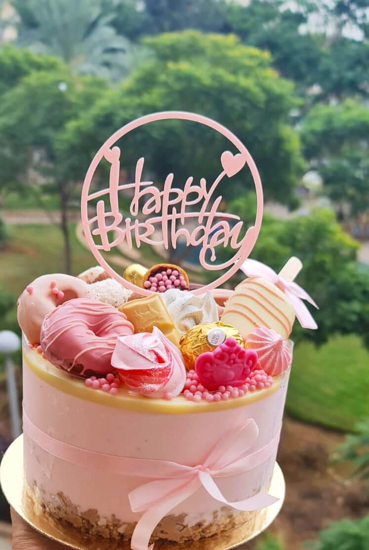 עוגת יום הולדת מושלמת מתוך המארז