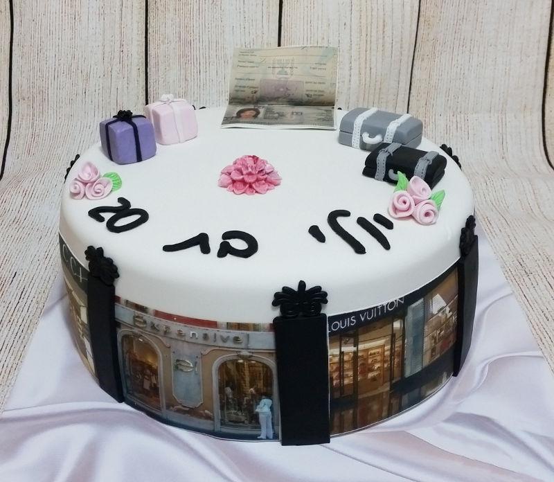 עוגת יום הולדת מותגים