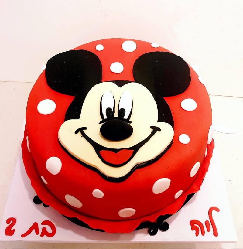 עוגת יום הולדת מקסימה של מיקי מאוס