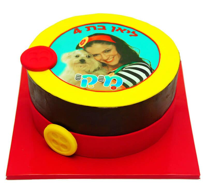 עוגת יום הולדת מיקי