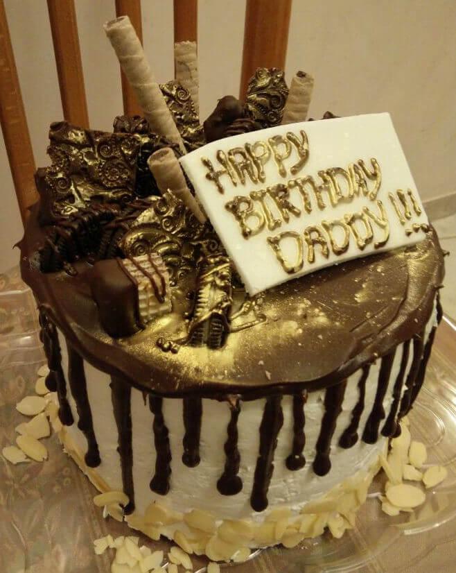 עוגת יום הולדת ממתקים