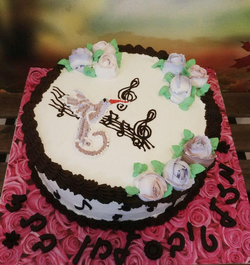 עוגת יום הולדת מעוצבת