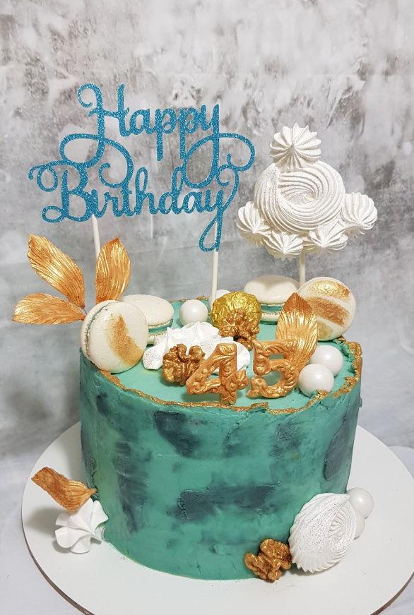 עוגת יום הולדת מעוצבת למבוגרים
