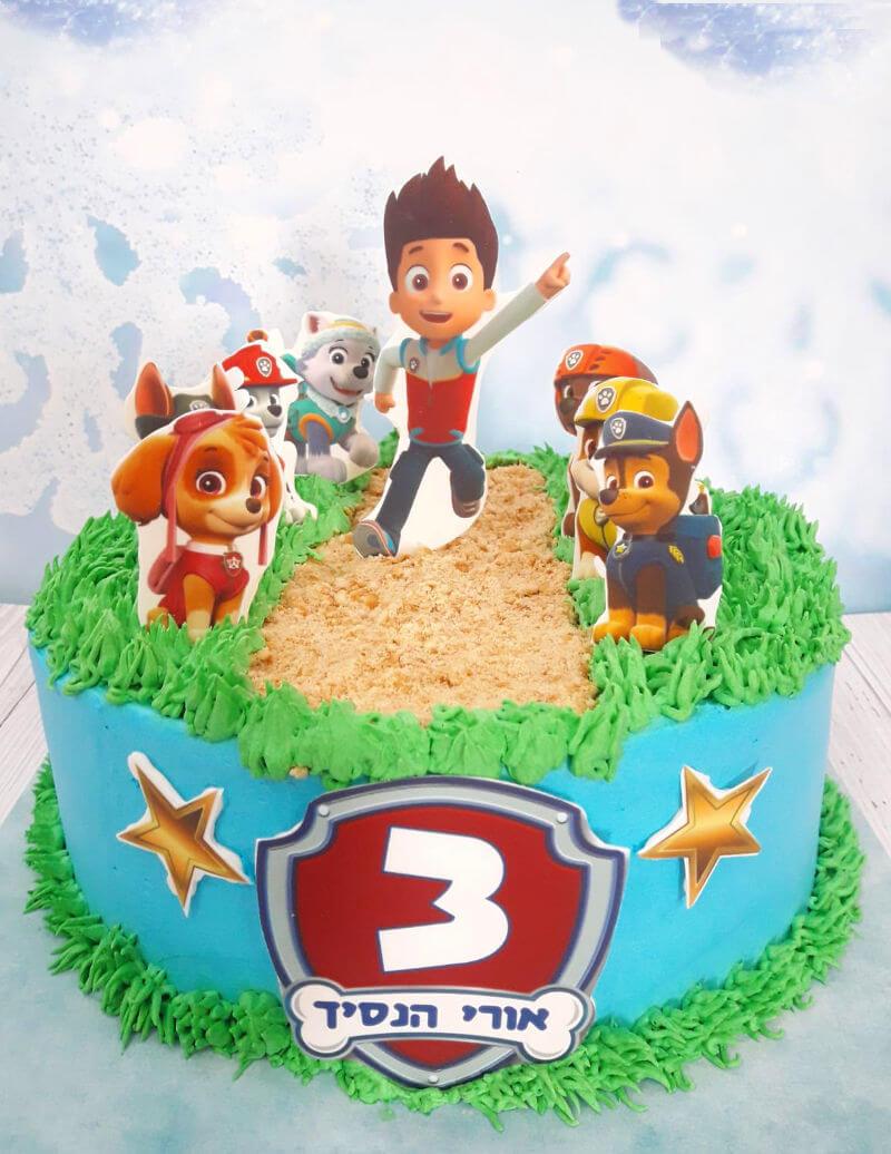 עוגת יום הולדת מפרץ ההרפתקאות