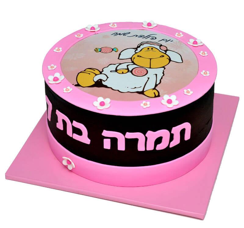 עוגת יום הולדת ניקי
