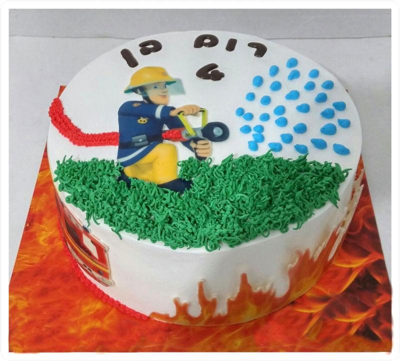 עוגת יום הולדת סמי הכבאי