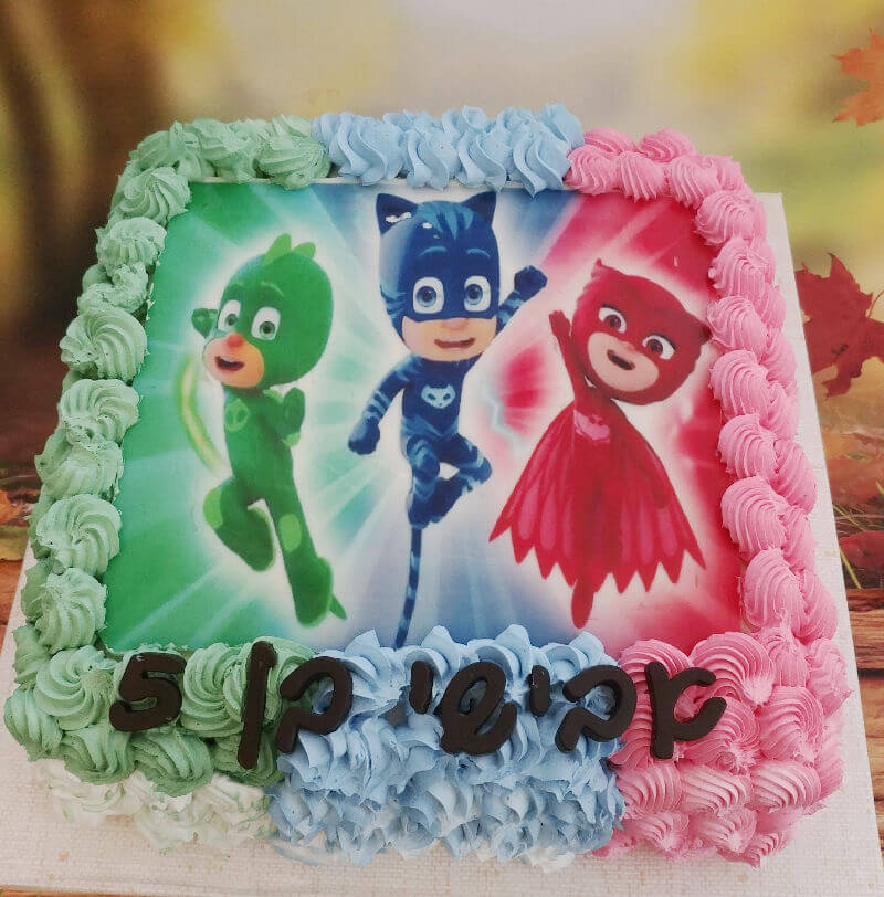 עוגת יום הולדת כוח פיגי