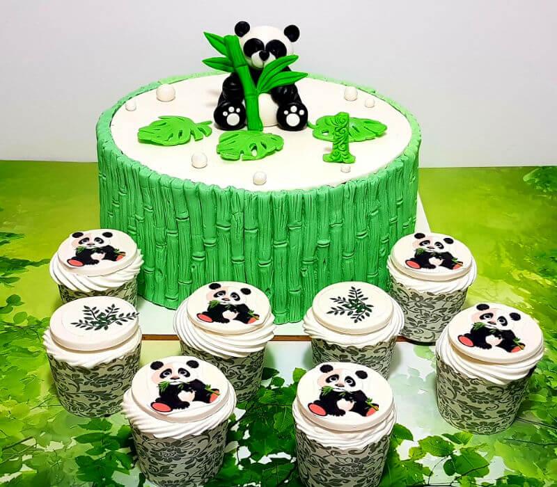 עוגת יום הולדת פנדה