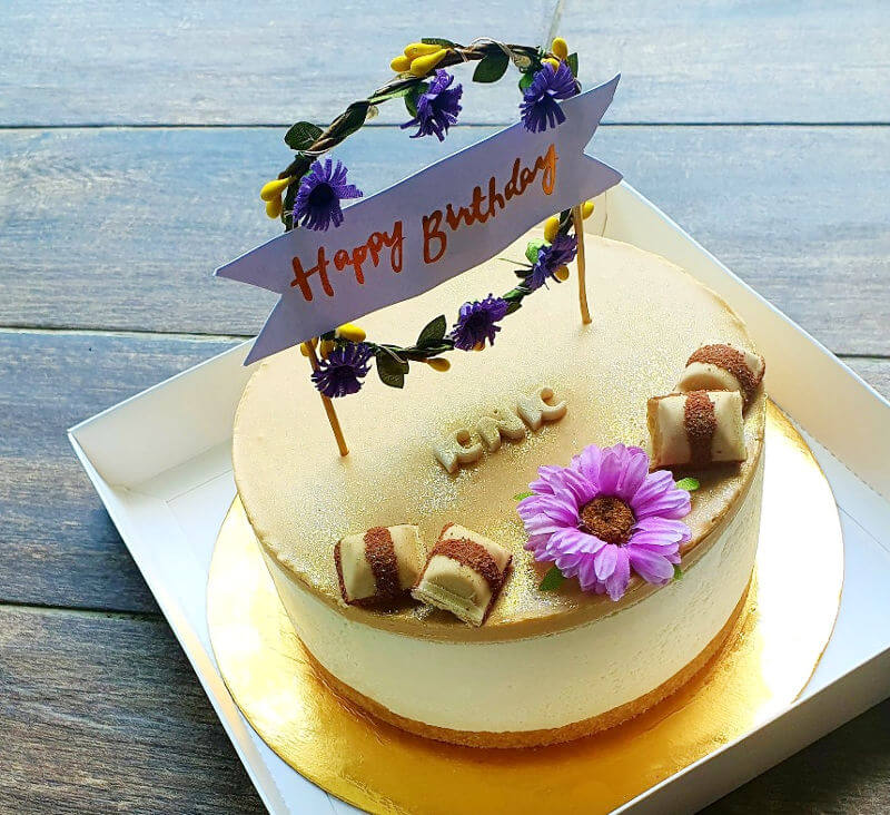 עוגת יום הולדת שמח לאמא