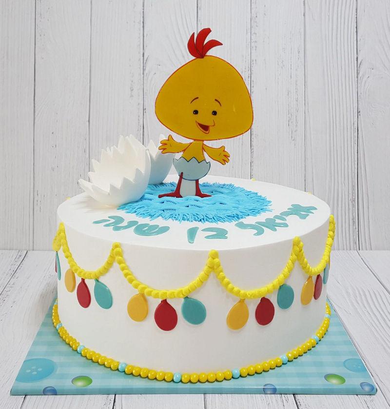 עוגת יום הולדת שנה לולי