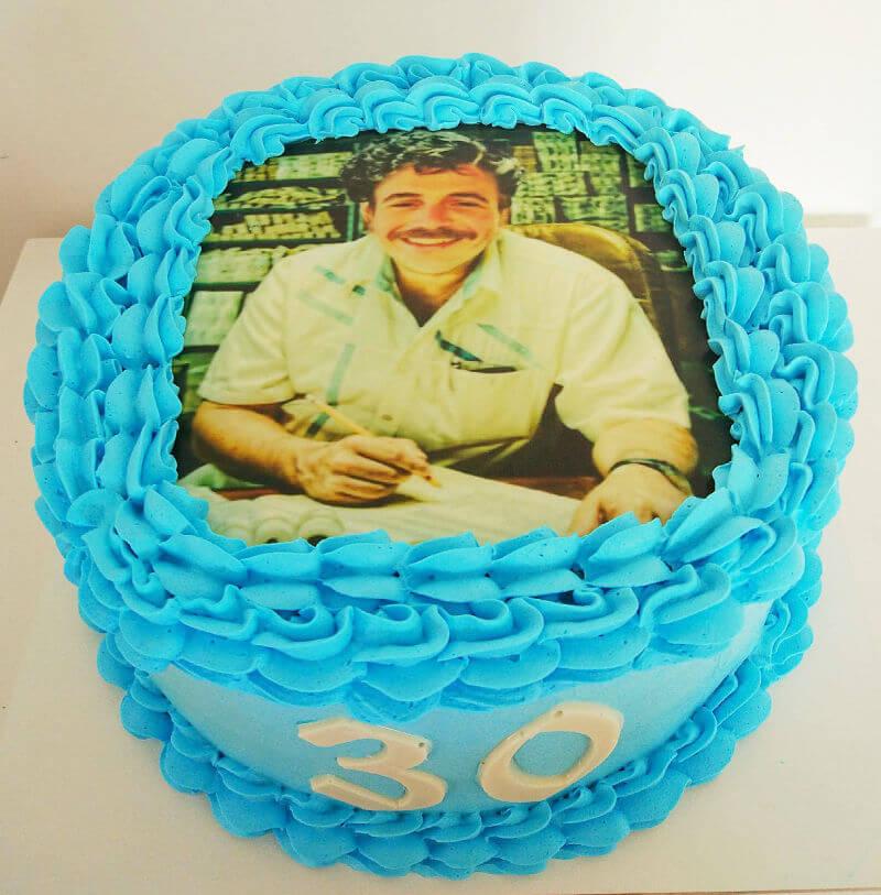 עוגת יום הולדת תמונה
