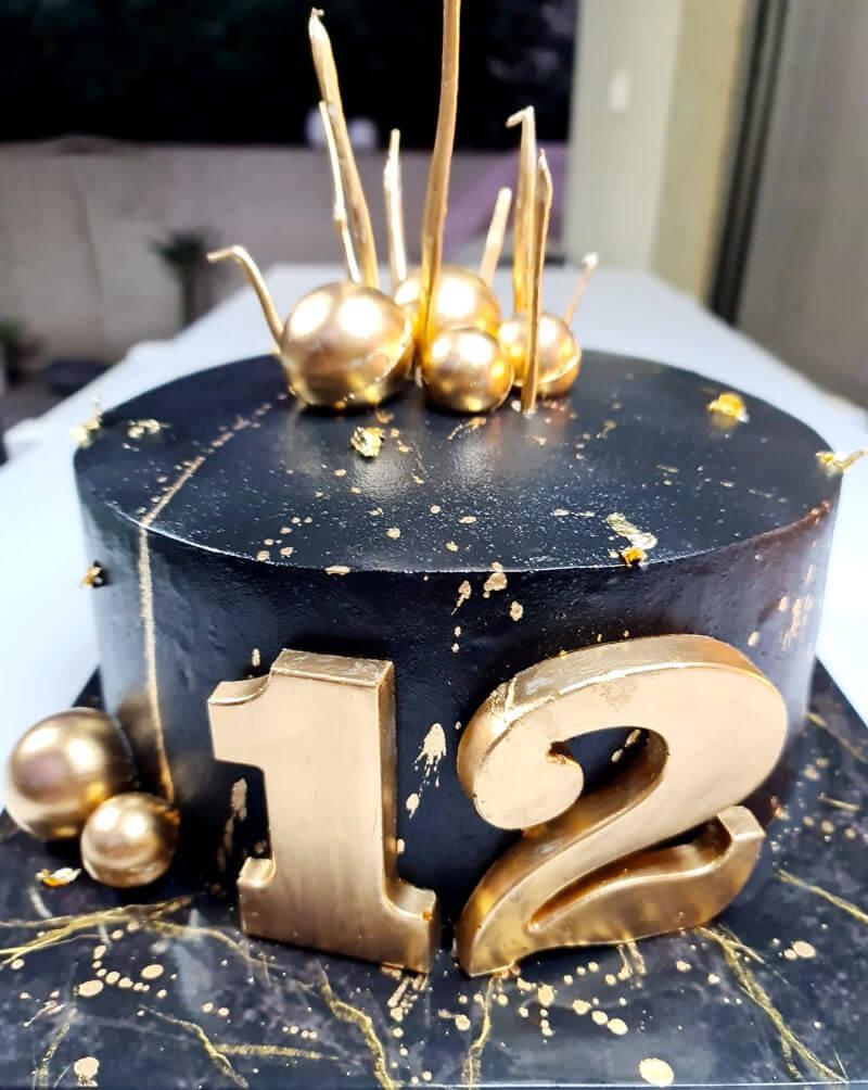 עוגת יום הולדת 12