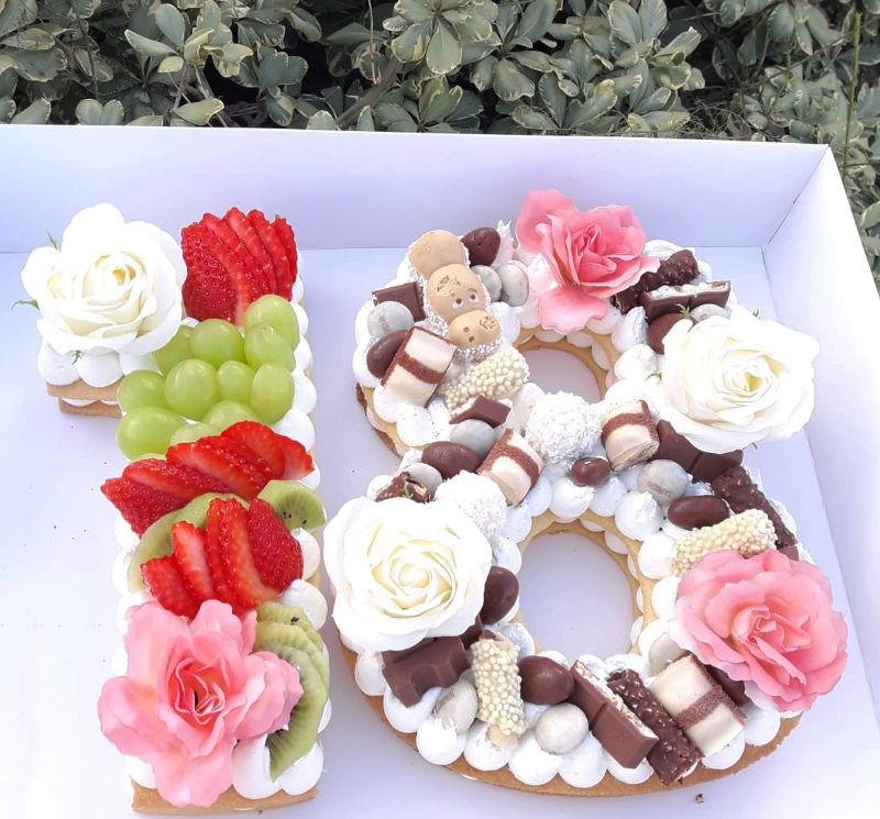 עוגת יום הולדת 18