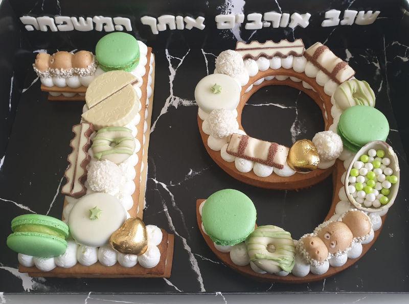 עוגת יום הולדת 19