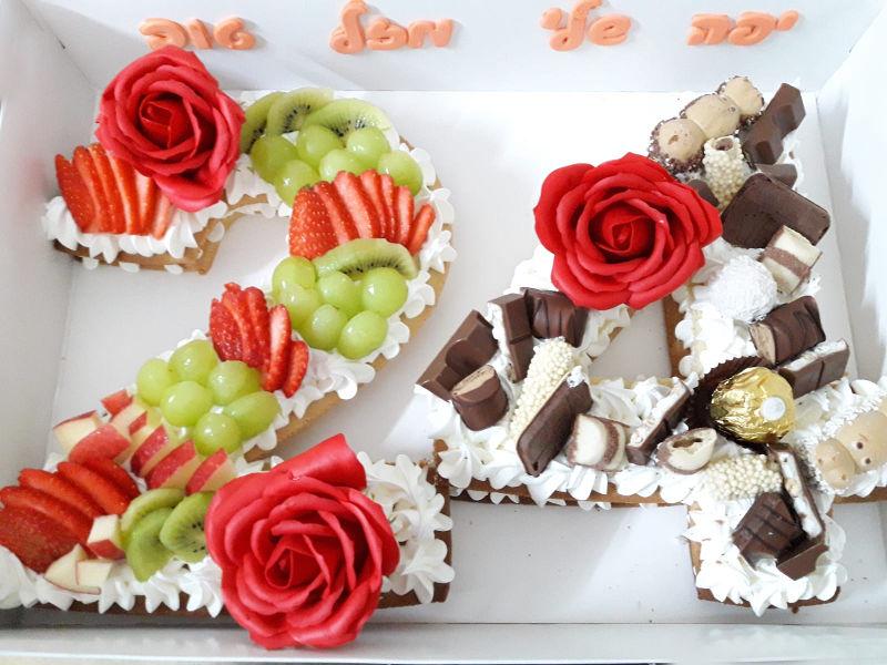 עוגת יום הולדת 24