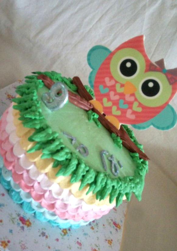 עוגת יום הולדת ינשוף