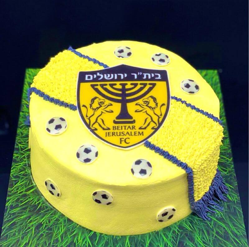 עוגת כדורגל ביתר ירושלים