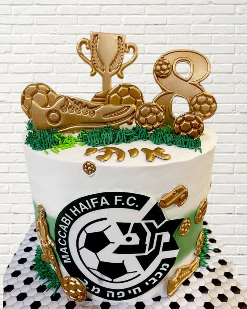 עוגת כדורגל מכבי