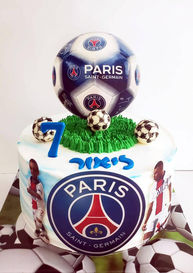 עוגת כדורגל של ריאל מדריד