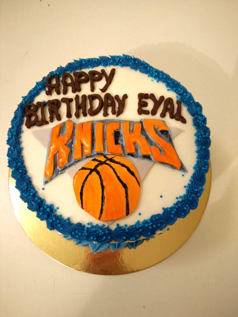 עוגת כדורסל ליום הולדת