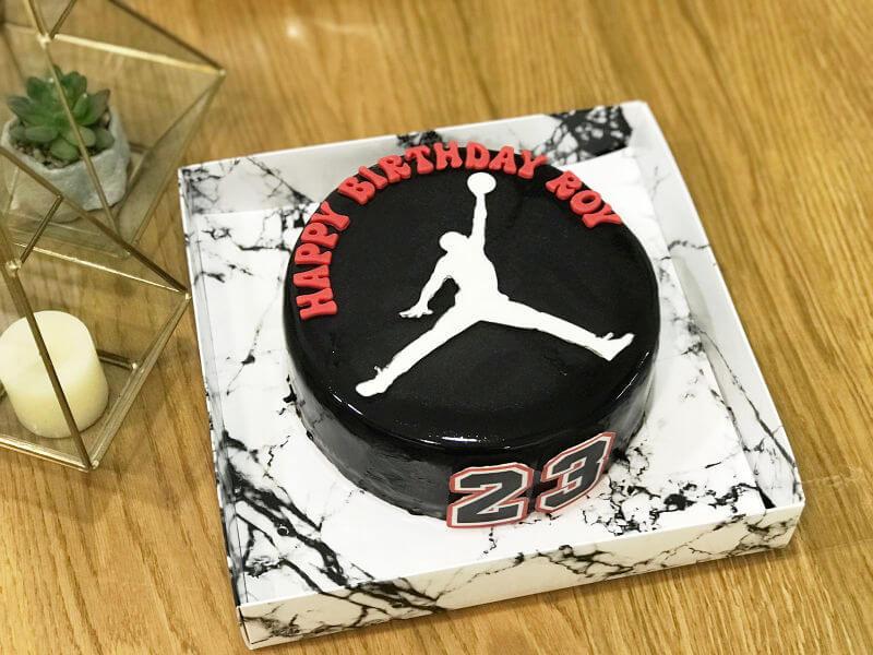 עוגת כדורסל מעוצבת