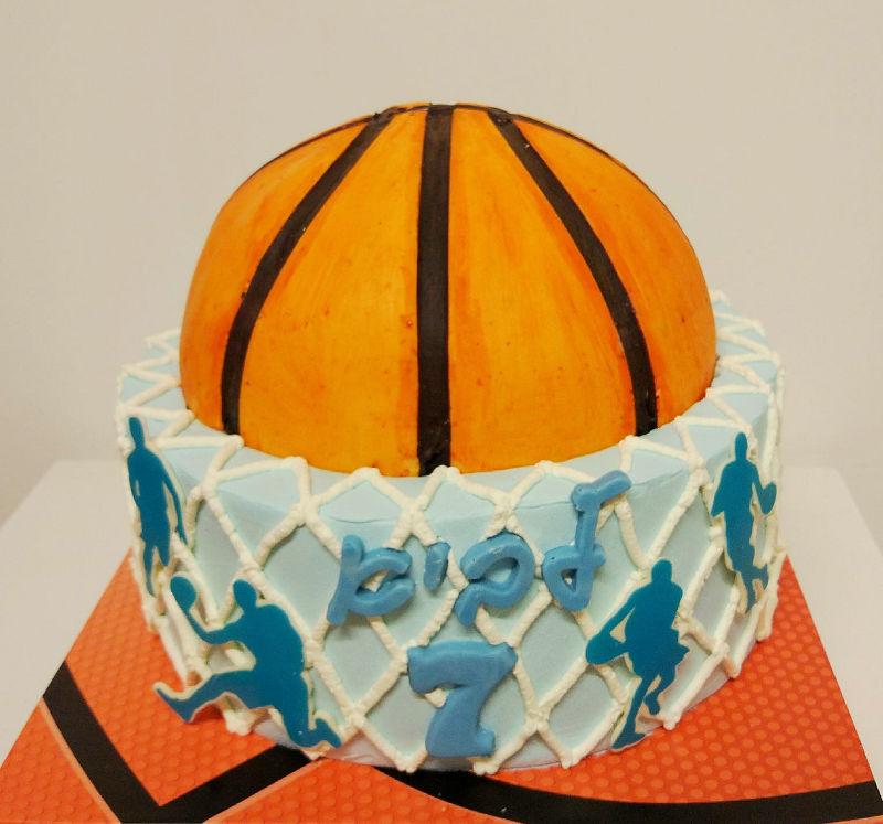 עוגת כדורסל