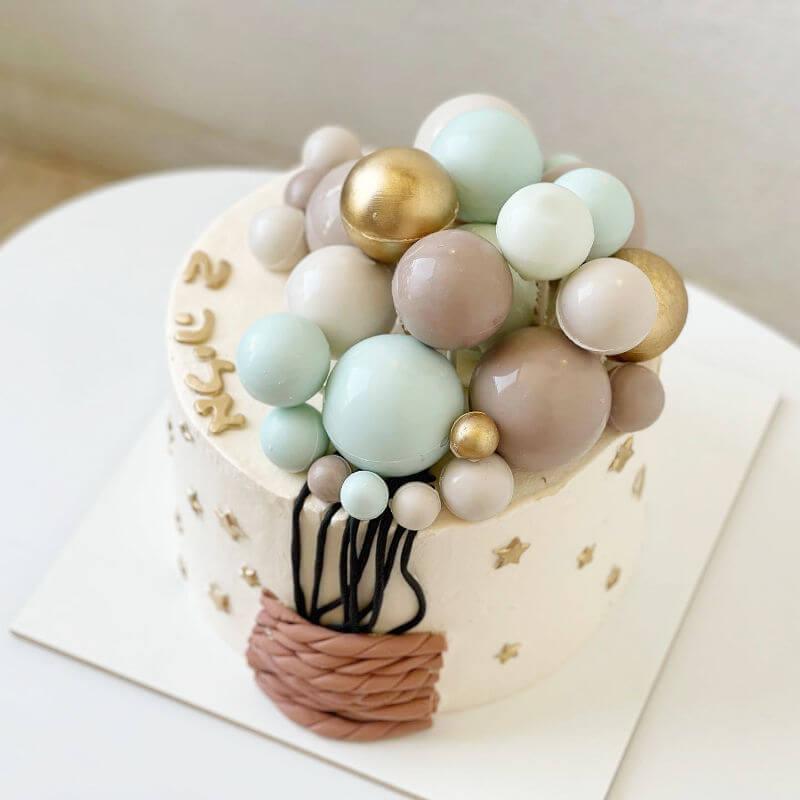 עוגת כדור פורח