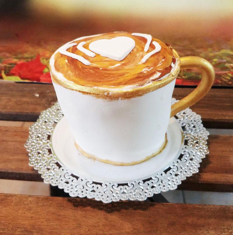 עוגת כוס קפה מיוחדת