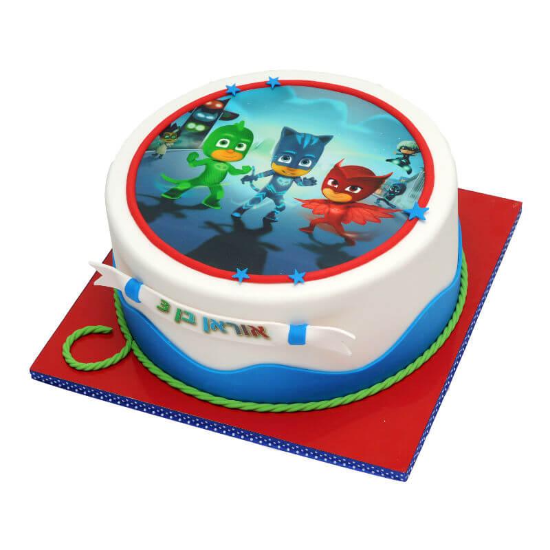 כוח פיגי עוגה מעוצבת