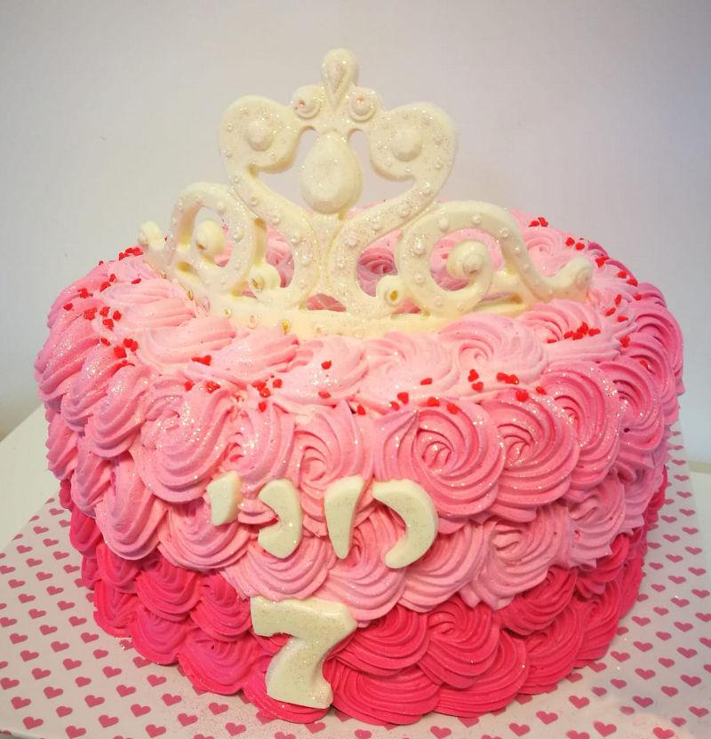 עוגת כתר לבת