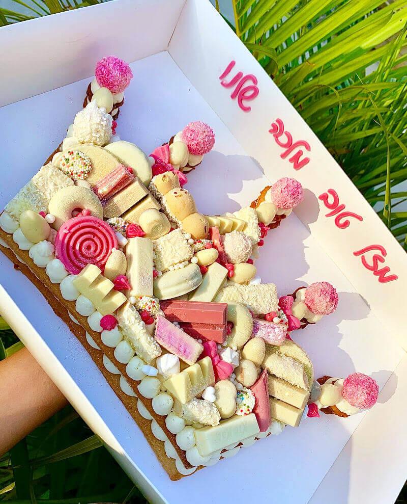 עוגת כתר לאשה המלכה שלנו
