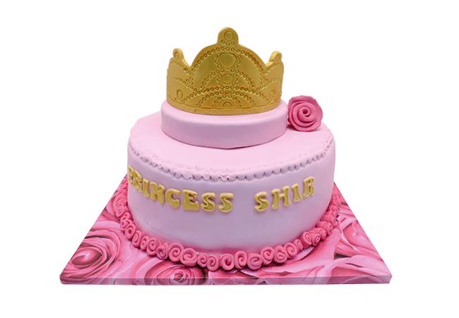 עוגת כתר לנסיכה