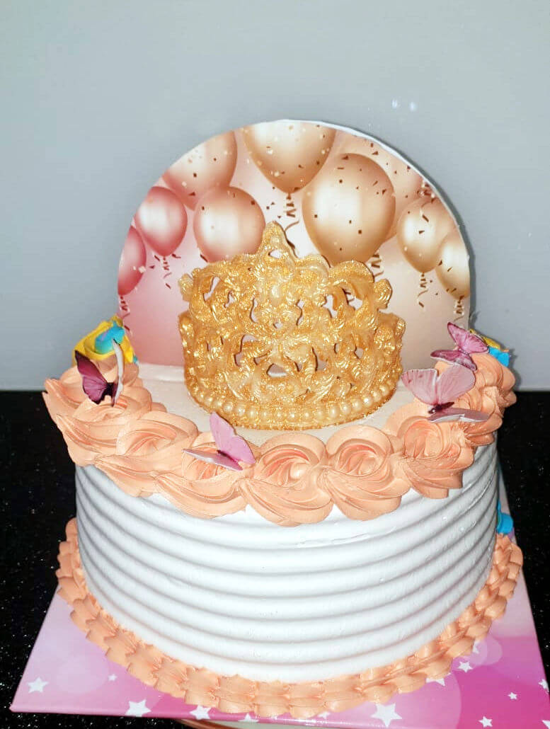 עוגת כתר מעוצבת