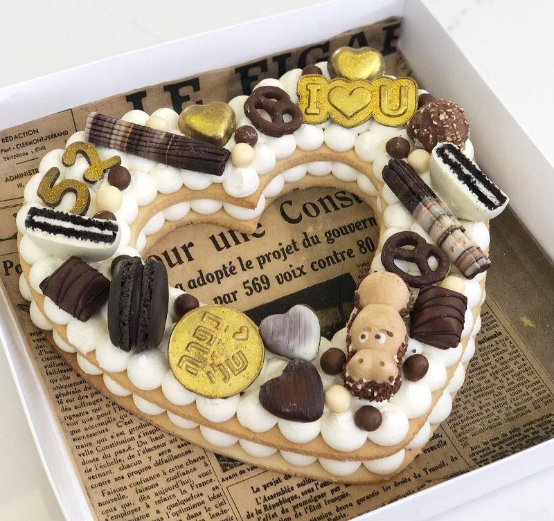 עוגת לה וממתקים ליום הולדת