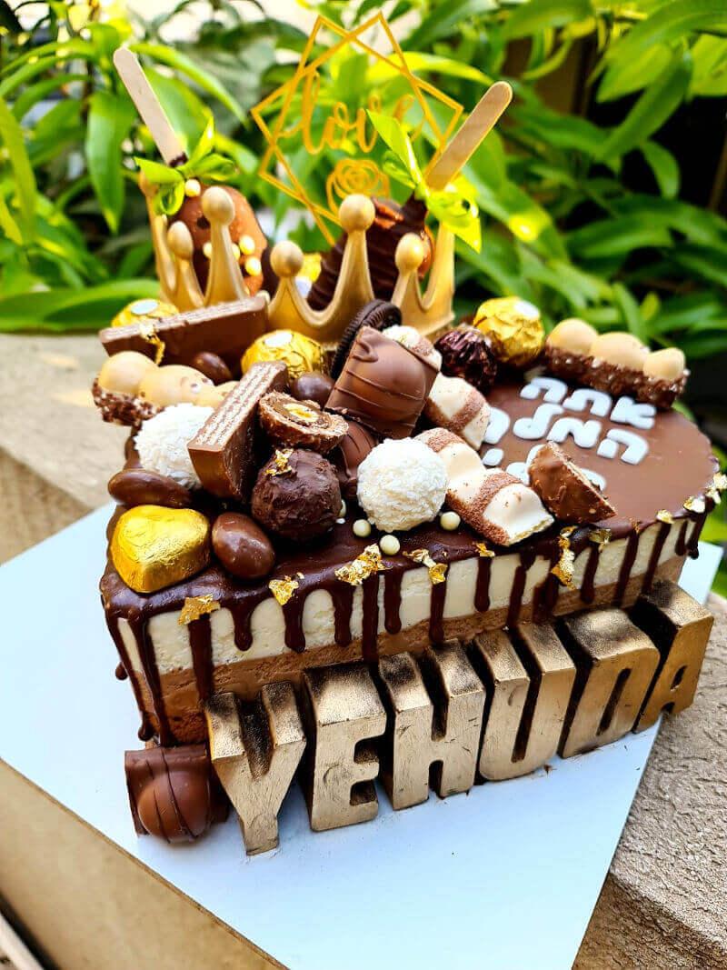 עוגת לב טריקולד