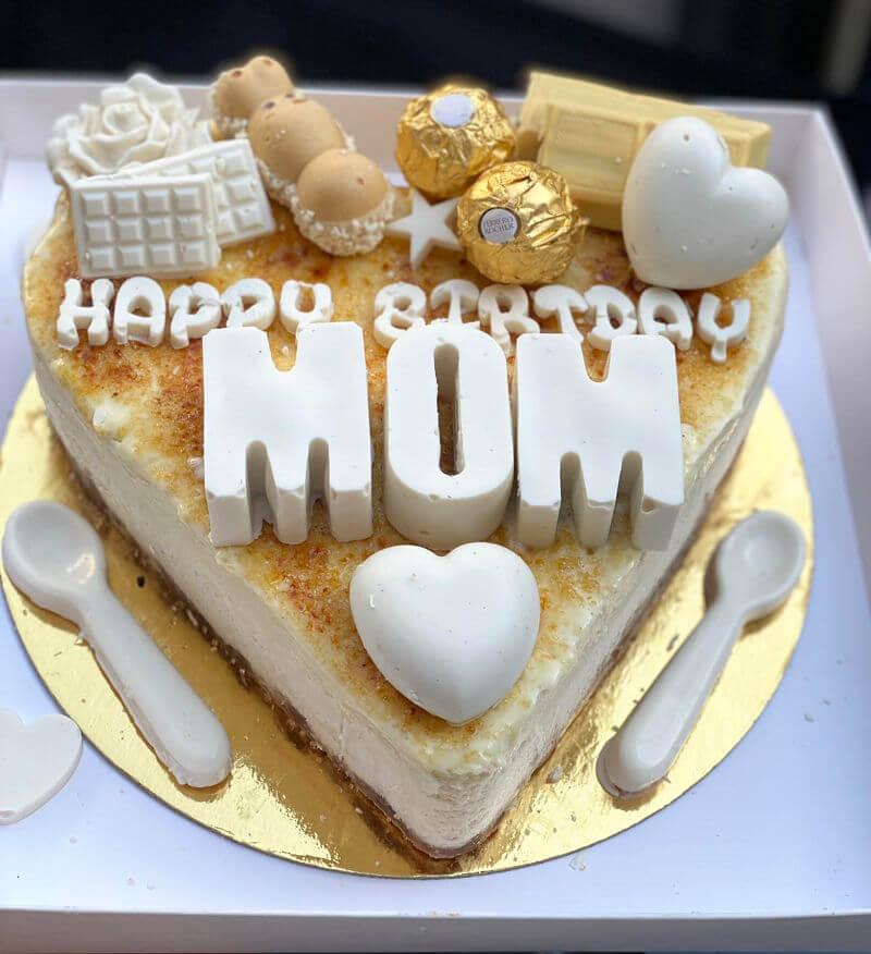עוגת לב לאמא