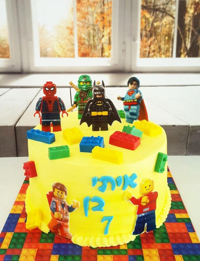 עוגת לגו LEGO