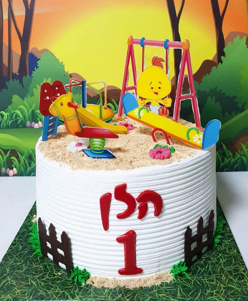 עוגת לולי לגיל שנה