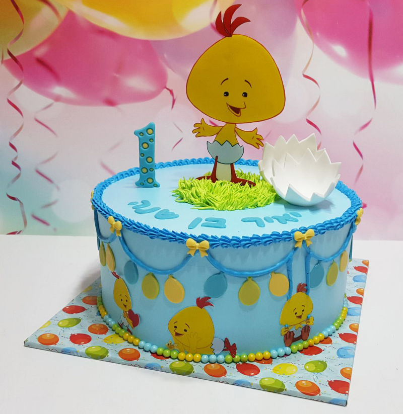 עוגת לולי ליום הולדת שנה