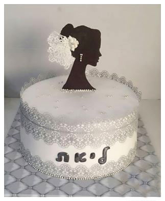 עוגת כלה למסיבת רווקות