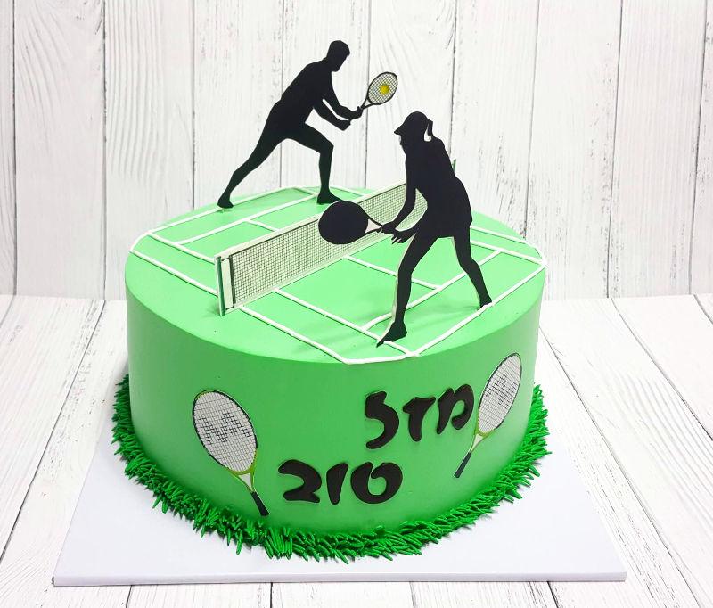 עוגת מגרש טניס