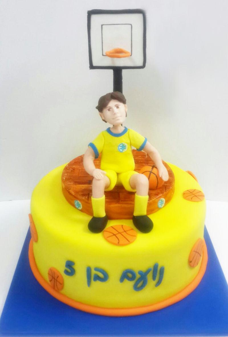 עוגת מגרש כדורסל