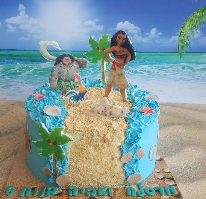 עוגת מואנה ליום הולדת