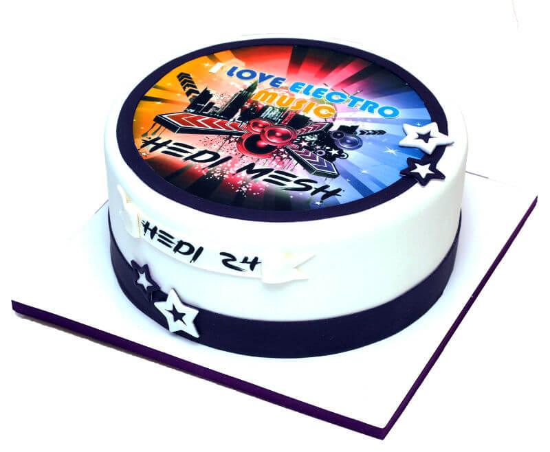 עוגה בסגנון מוזיקלי