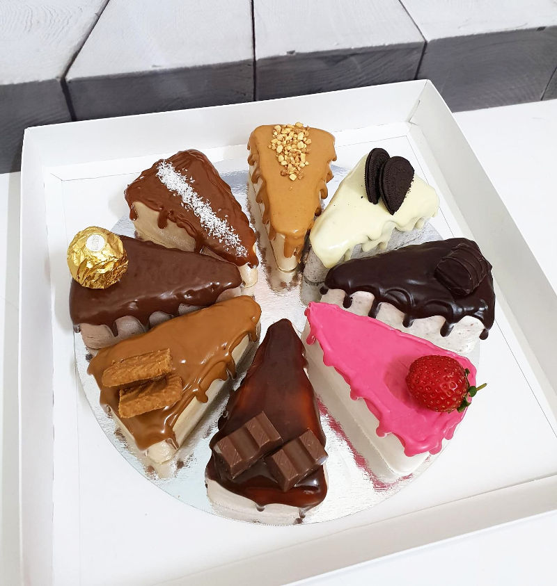 עוגת מוסים בטעמים שונים לחג