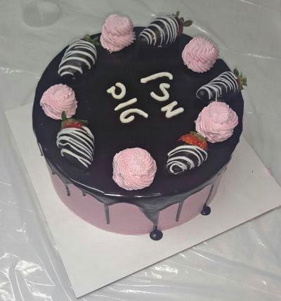 עוגת יום הולדת מוס