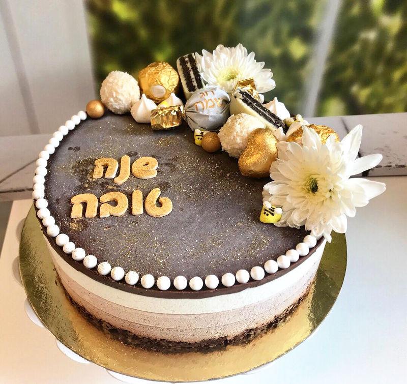 עוגת מוסים לראש השנה