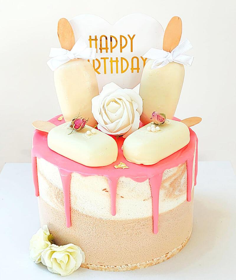 עוגת מוסים עם מגנומים ליום הולדת