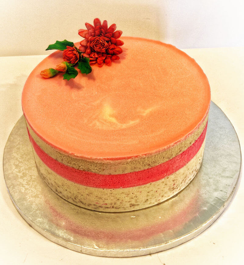 עוגת מוסים קוקוס וליצי